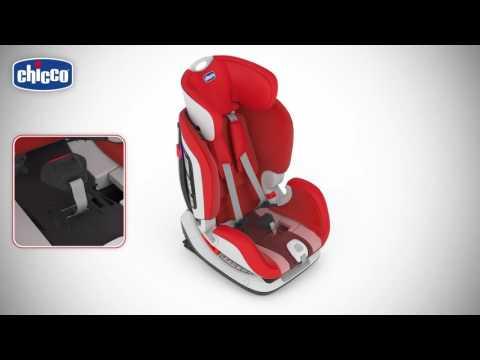 Автокресло Seat Up 012 от Chicco - видео по установке