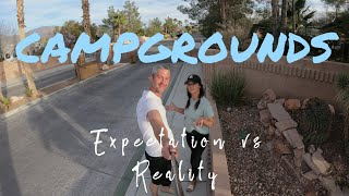 What to expect at RV Campgrounds // Beginners guide to RV Parks // RV Newbies