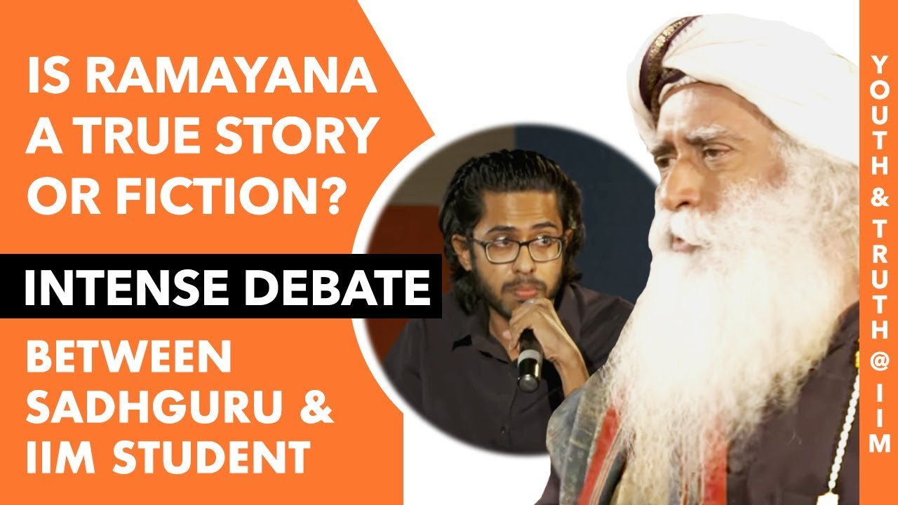 Is Ramayan Just a Fiction or a True Story? Intense Debate Between Sadhguru and IIM Students | MOI