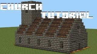 minecraft church tutorial 10g