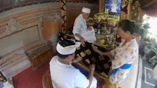 upacara menek kelih tradisi bali