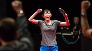 【卓球】海外選手圧倒!戦う美少女!早田ひなベストパフォーマンスを集めたら・・・【衝撃】