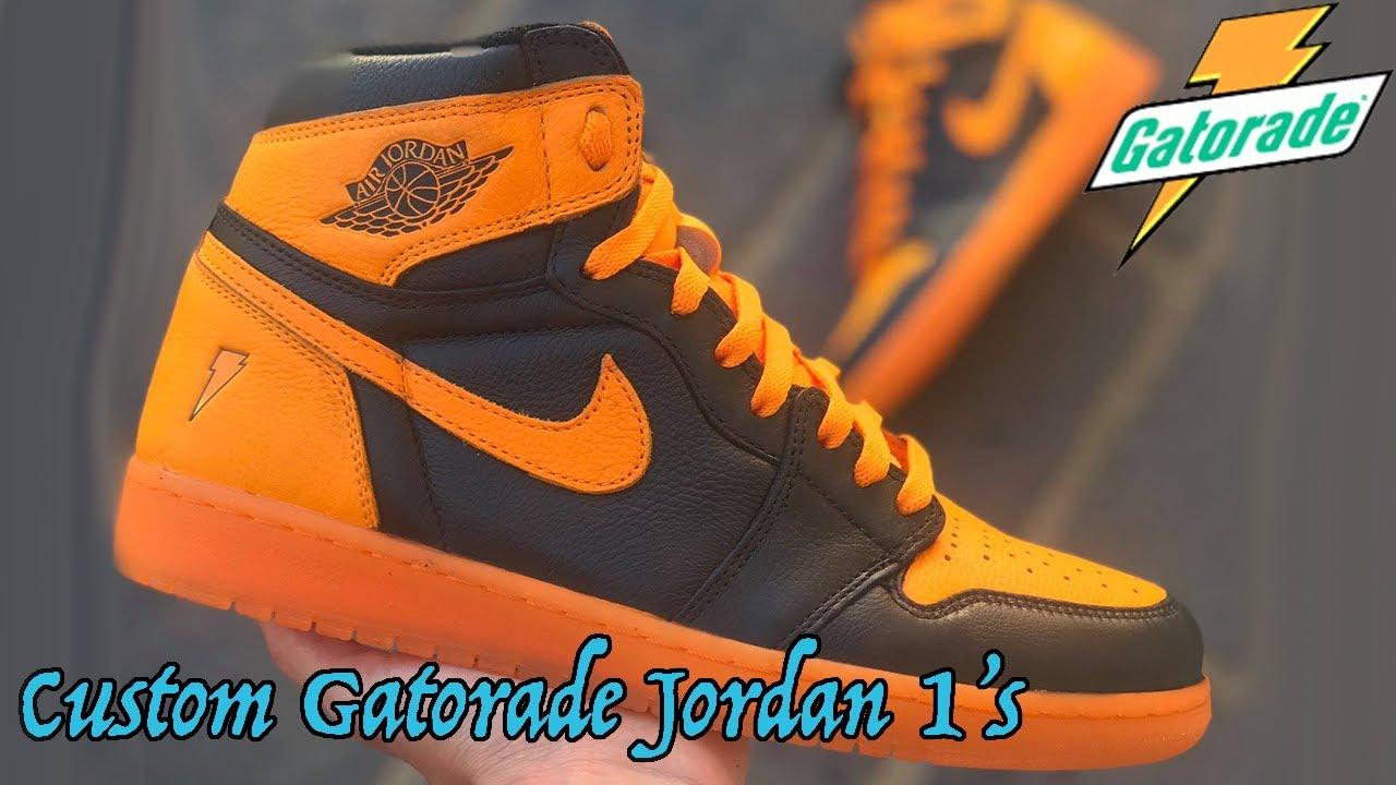 Custom Gatorade Jordan 1 | HOW TO MAKE