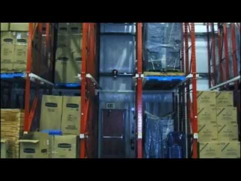 Drive-In / Drive-Thru Racking - North American Steel / Storage