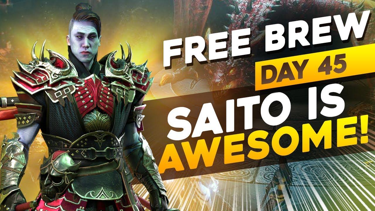 Download Saito's time to SHINE!   DAY 45 F2P   RAID SHADOW LEGENDS