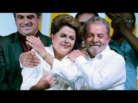Brazil's President Dilma Rousseff wins second term