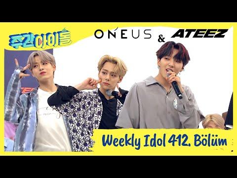 [TR] Weekly Idol Ep. 412 ONEUS & ATEEZ [Türkçe Altyazılı]