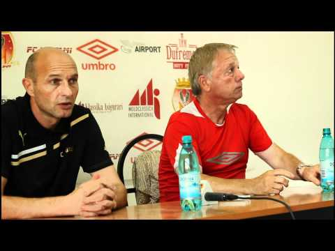 Conferinta de presa | Gabi STAN si Sergiu STROENCO. MILSAMI URSIDOS 1-1 ZIMBRU