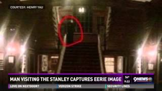 Man visiting Stanley Hotel captures eerie image thumbnail