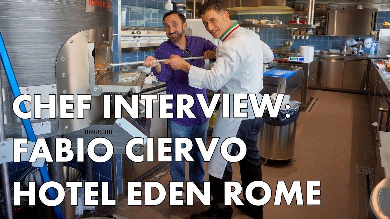 Chef Interview Fabio Ciervo Of Dorchester Collection S Hotel Eden Rome