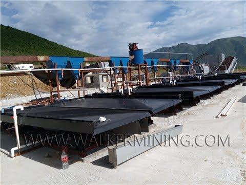 5-15 ton per hour Rock Chrome Processing Plant in Albania