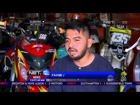 Jajal Medan Ekstrem Layaknya Motor Trail Dengan Motor Matic - NET 12