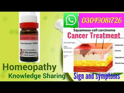 Carcinosin | Homeopathic medicine for prevention from cancer | Sign and symptoms | Disease and doses