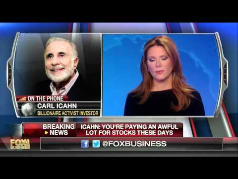 Icahn: Earnings numbers are a mirage