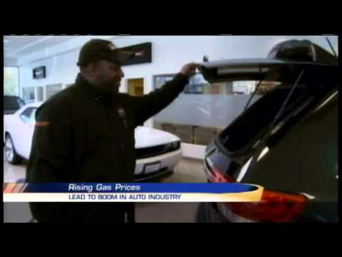Gas prices increase demand for fuel-efficient cars