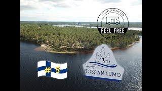 Womo Finnland Rundreise # 5 - ein Highlight am Straßenrand - ⛺️ Camping Hossan Lumo
