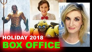 Box Office Prediction - Aquaman, Mary Poppins Returns, Bumblebee