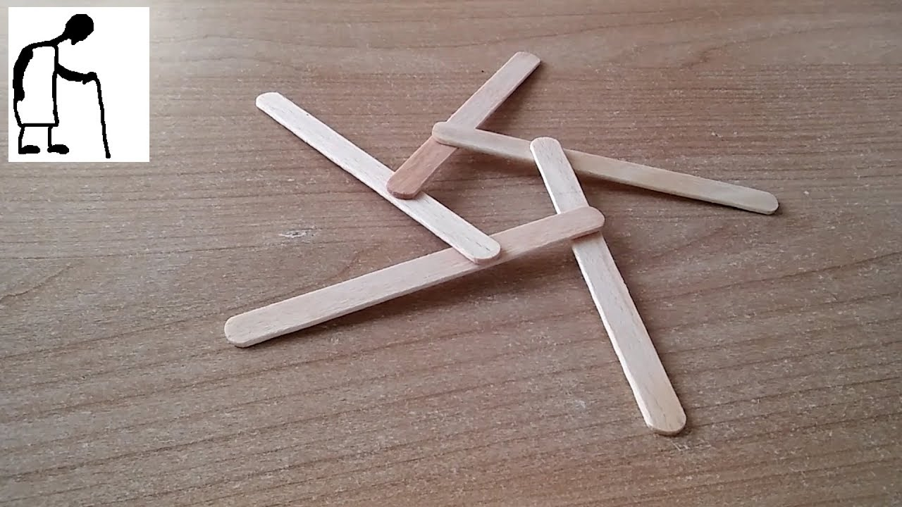 how to make a boomerang with popsicle sticks
