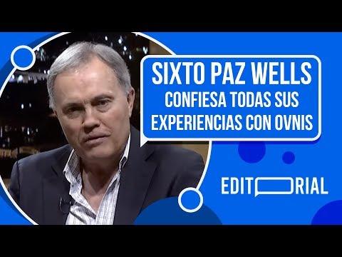 Sixto Paz Wells confesó todo sobre los Ovnis en NCN #Editorial