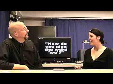 American Sign Language - ASL Lesson 02
