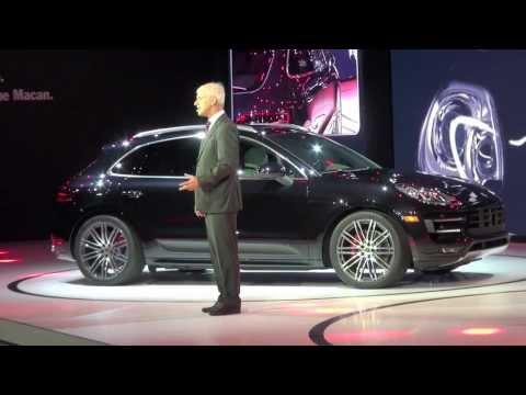 2014 Porsche Macan World Premiere by Matthias Müller, Porsche AGP President & CEO