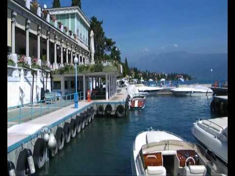 Lake Garda summer from Gardone Riviera