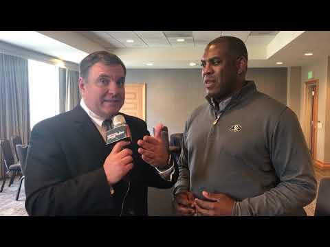 Colorado coach Mel Tucker, @MikeGriffith32 video