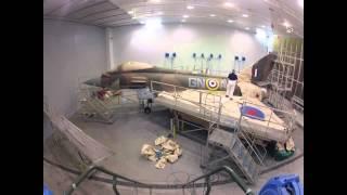 "Commemorative ""Battle of Britain"" Painted RAF Typhoon Jet"