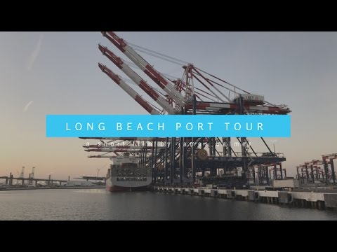 Long Beach Port Tour