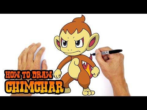 How to Draw Chimchar | Pokemon