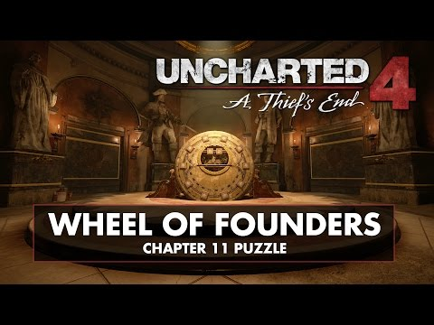 Uncharted 3 gear puzzle - chapter 11 As above, so Below ...