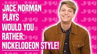 Jace Norman Chooses Jamie Lynn Spears Over Victoria Justice | Would You Rather