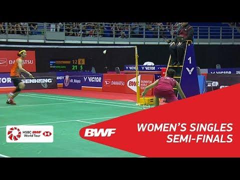 WS | TAI Tzu Ying (TPE) [1] vs Carolina MARIN (ESP) [4] | BWF 2018