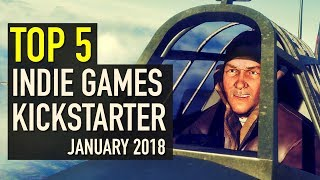 Baixar Top 5 Indie Games on Kickstarter - January 2018