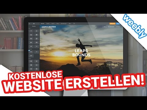 Kostenlose Website mit Weebly erstellen | Ganz EINFACH in 20 Minuten! (Deutsch)