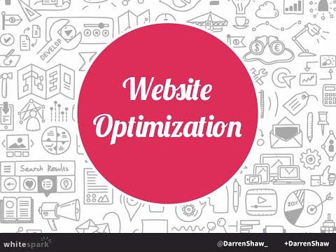 Website Optimization Basics   by: @DarrenShaw_ via: http://www whitespark ca