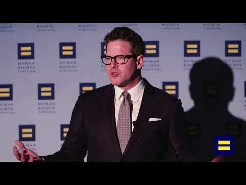 HRC Honors Thomas Roberts, Washington, D.C., April 14, 2018