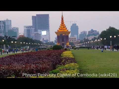 Phnom Penh  Capital of Cambodia  2018 (wiki420)