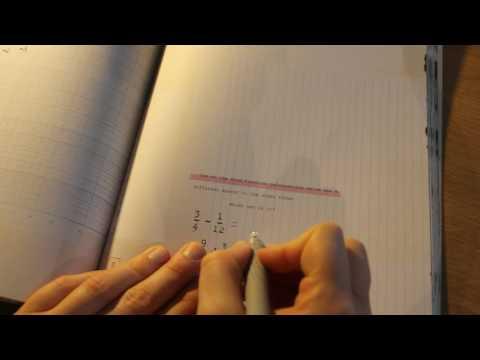 Maths - ASMR