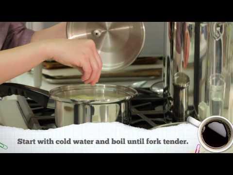 Potato 101: How to Blanch Potatoes