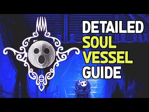 Hollow Knight- All Soul Vessel Fragments Location Guide