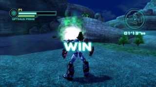 Transformers Prime the Game - Optimus Prime Gameplay (HD)