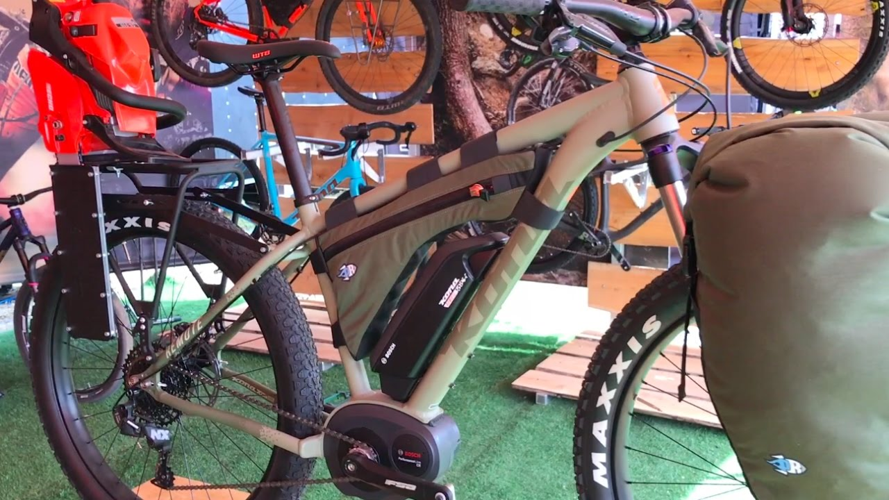 New Kona Remote All Terrain Electric Bike Chainsaw Not Included