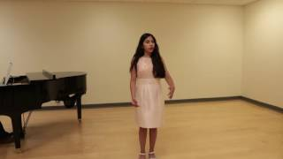 12 year old girl sings o mio babbino caro by g puccini