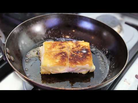 Croque Monsieur Sandwich: The Old Versus The New Recipe ( Cooked in a frying pan)