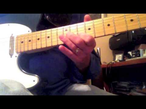 Rick Nelson - Travelin' Man lead guitar lesson