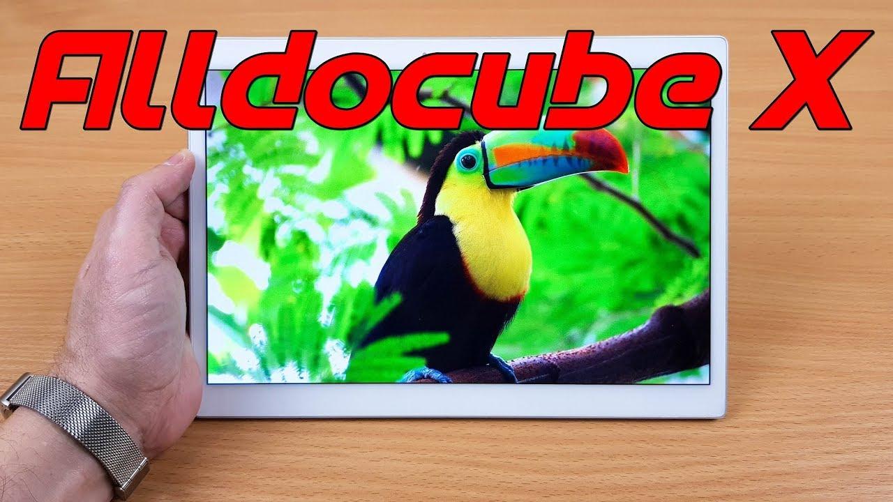 Обзор планшета ALLDOCUBE X: 2,5K Super AMOLED экран, HiFi чип AKM и немного магии...