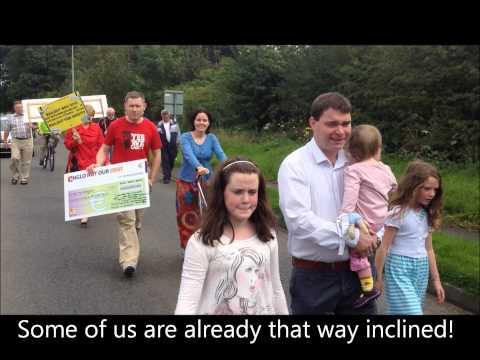 BALLYHEA & CHARLEVILLE Bank Bondholder Bailout protest - week 78 - Ballyhea.wmv