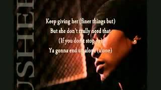 Usher - Simple Things (with lyrics)