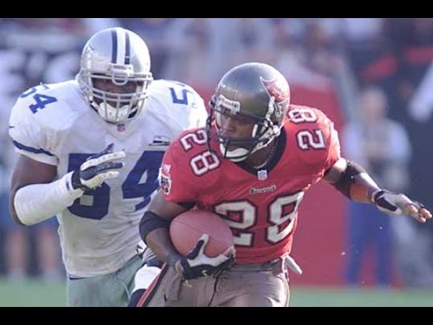 Warrick Dunn 70 yard TD Buccaneers vs Cowboys 2000